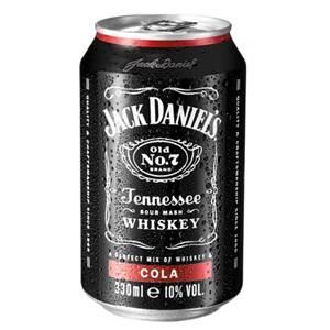 Jack Daniels & Cola 10%