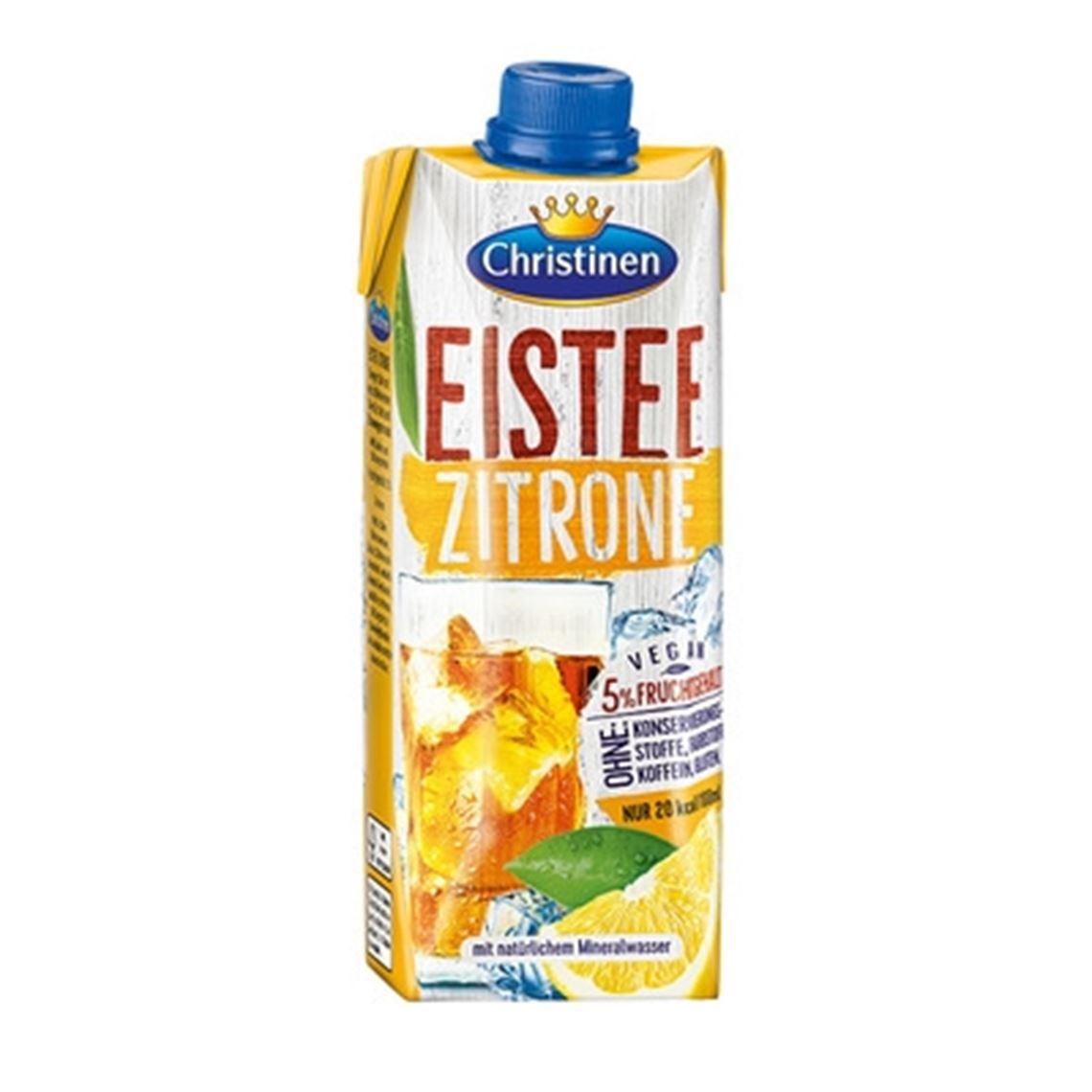 Christinen QuickDrink Eistee Zitrone