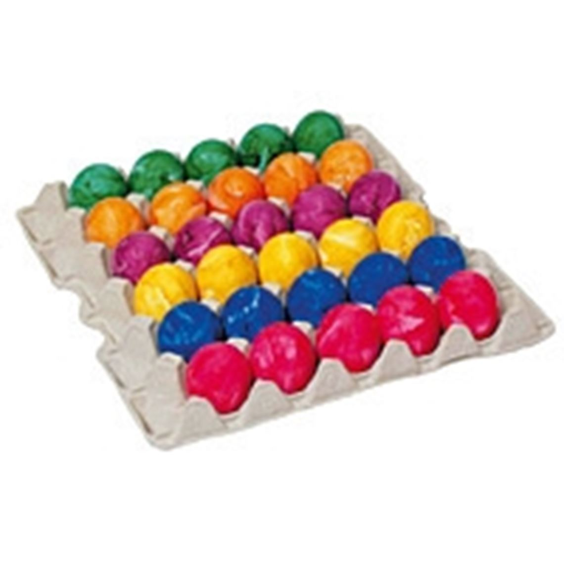 Eier gefärbt Gewichtsklasse S Bodenhaltung 30 Stück