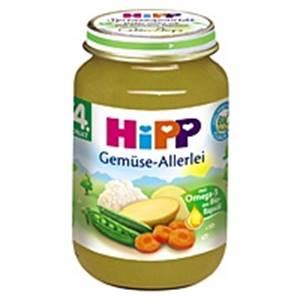 Hipp Bio Gemüse-Allerei nach dem 4. Monat
