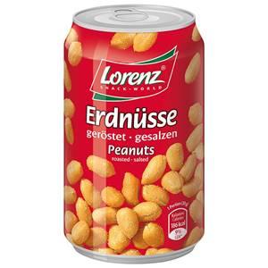 Lorenz Erdnüsse geröstet + gesalzen 200g