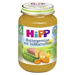 Hipp Bio Buttergemüse mit Süsskartoffeln 190g