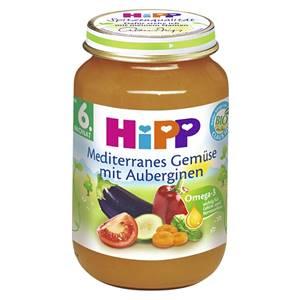 Bio Hipp Mediterranes Gemüse mit Auberginen