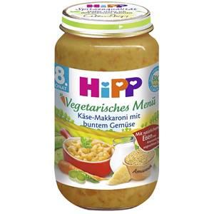 Bio Hipp Käse-Makkaroni mit buntem Gemüse