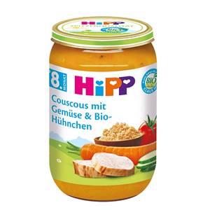 Bio Hipp Couscous mit Gemüse und Bio Hühnchen