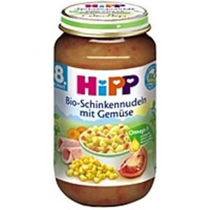 Bio Hipp Schinkennudeln mit Gemüse