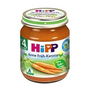 Hipp Reine Früh-Karotten 125g