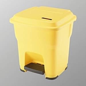 Hera Pedalbehälter gelb - 35 Liter