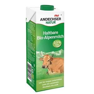 Andechser Bio H-Alpenmilch 3,5% 1l