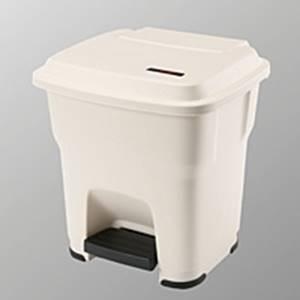 Hera Pedalbehälter beige - 35 Liter