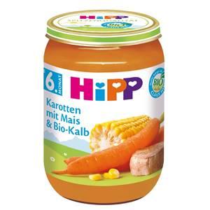 Hipp Karotten mit Mais und Bio-Kalb