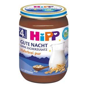 Hipp Haferbrei Pur ohne Zucker