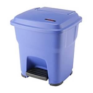 Hera Pedalbehälter blau - 35 Liter