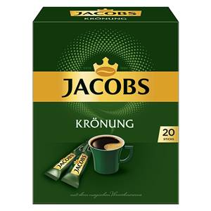 Jacobs Kaffee Krönung Gold 20 Sticks