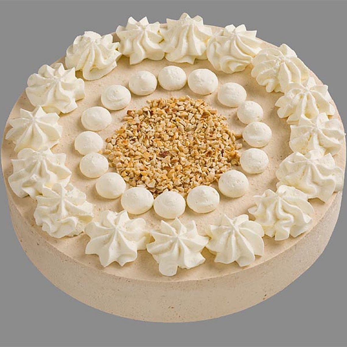 Nuss Sahne Torte Gastro TK 1600g