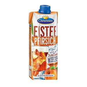 Christinen QuickDrink Eis-Tee-Pfirsich