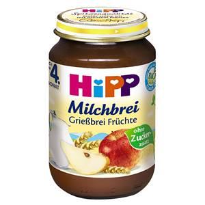 Bio Hipp Grießbrei Früchte 190g