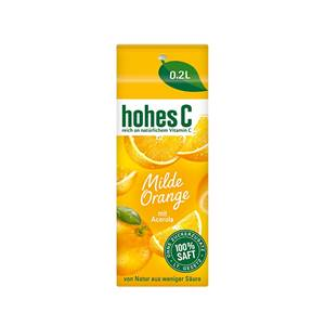 Hohes C Milde Orange