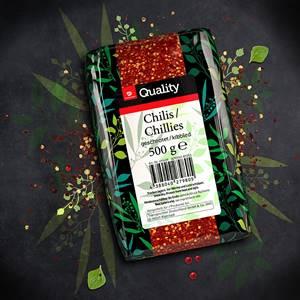 Chilis geschrotet TGQ