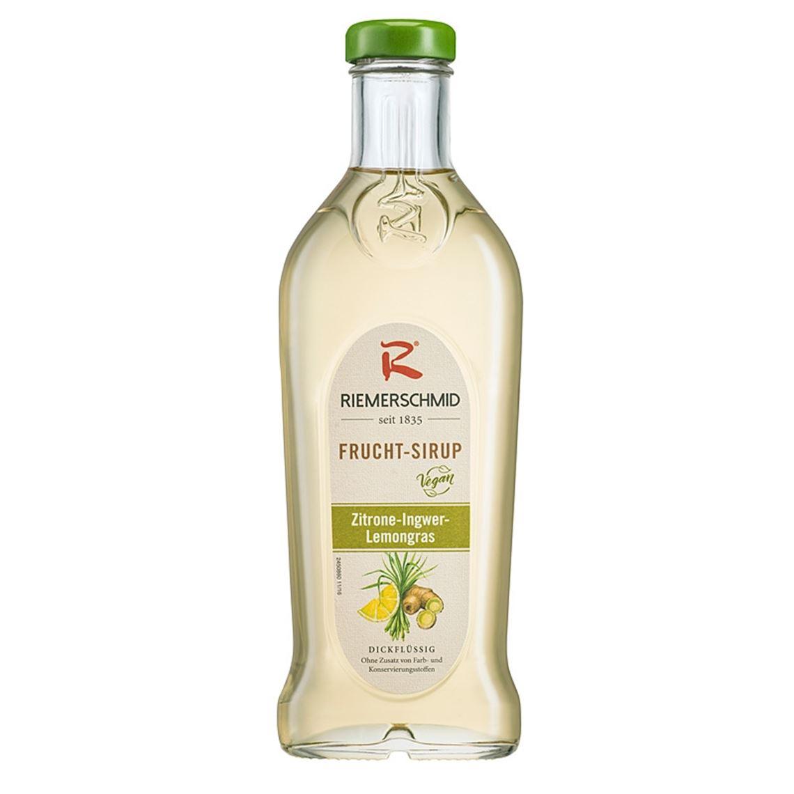 Fruchtsirup Zitrone-Ingwer-Lemongras