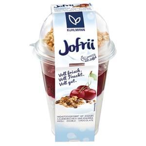 Joghurt mit Sauerkirschen und Knuspermüsli mit Schokolade 285g