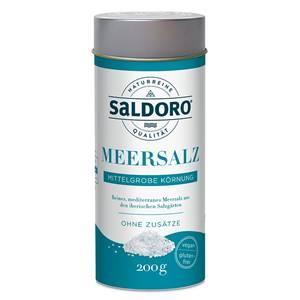 Saldoro Meersalz mittelgrob 200g