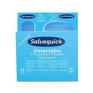 Pflastermix Salvequick Blue Detectable