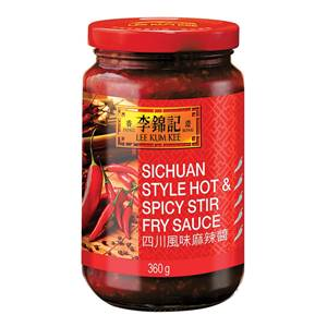 Sichuan Style Hot & Spicy Stir Fry Sauce 360g