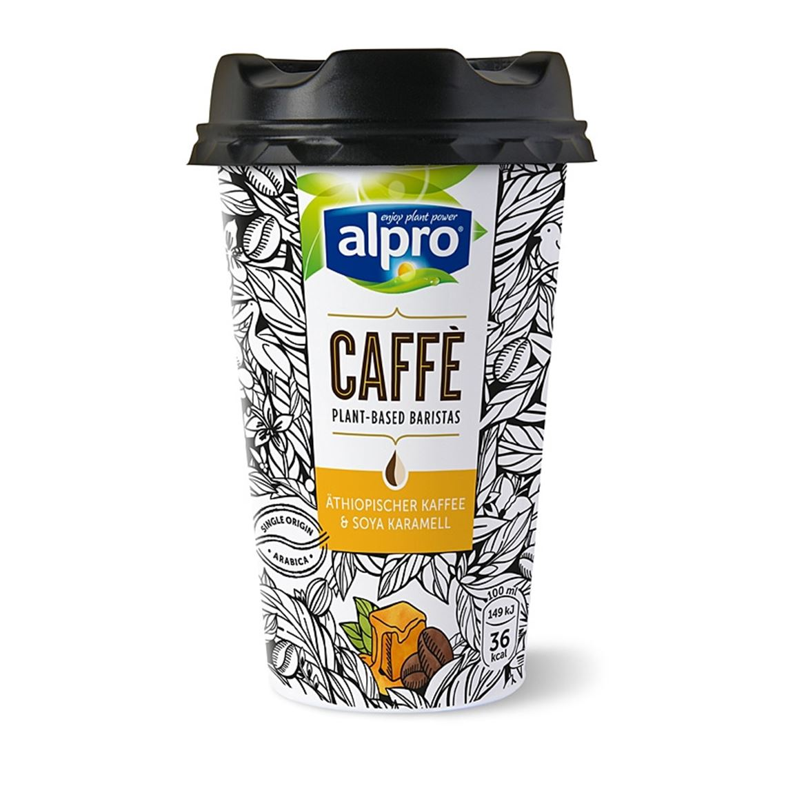 Alpro Caffé Soya Karamell         235ml