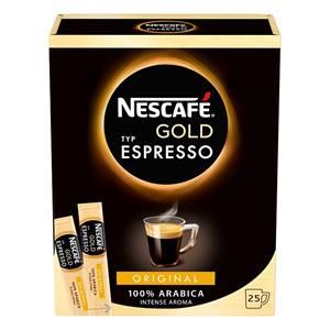 Nescafe Espresso Gold Sticks 25 Stück