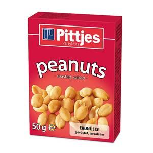 Pittjes Erdnüsse gesalzen 50g
