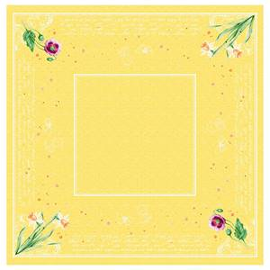 Dunicel Mitteldecken Spring Lilies 84x84cm 20 Stück