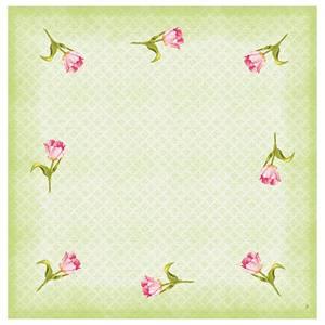 Dunicell Mitteldecken Love Tulip 84x84cm 20 Stück
