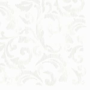 Dunilin Serviette Saphira white 40x40 45 Stück