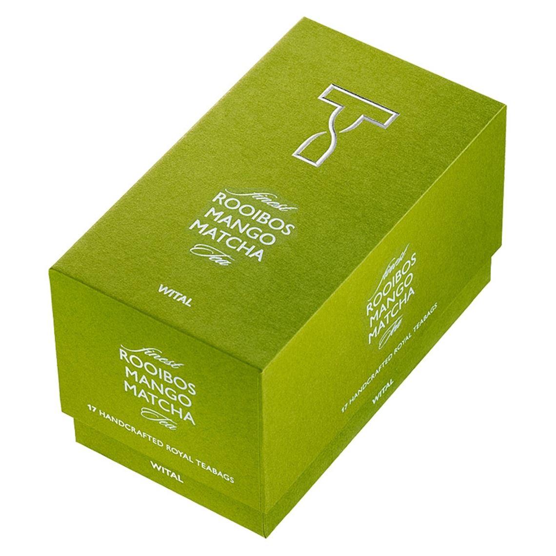 Wital Finest Tea Rooibos Mango Matcha 17x2,5g