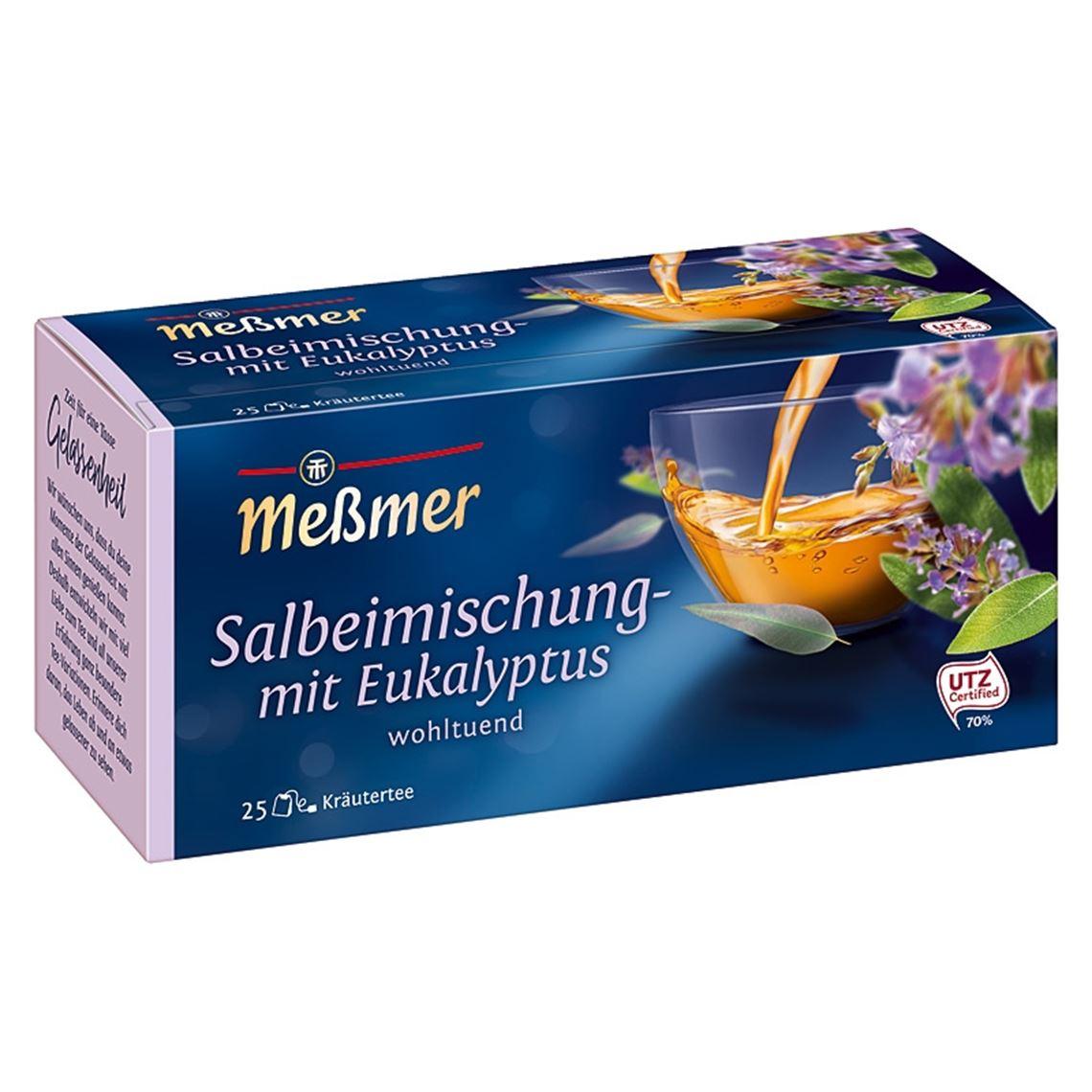 Meßmer Salbei Eukalyptus 25x1,75g