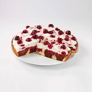 Sahne-Cake Kirsche-Vanille Tk 1350g