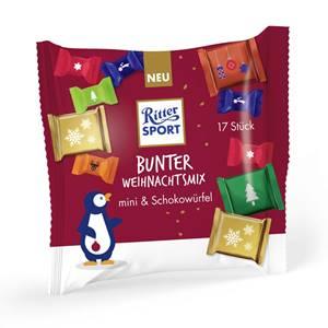 Ritter Sport Bunter Weihnachtsmix 195g