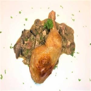 Hähnchenkeule Coq au Vin in Sauce  2,5kg
