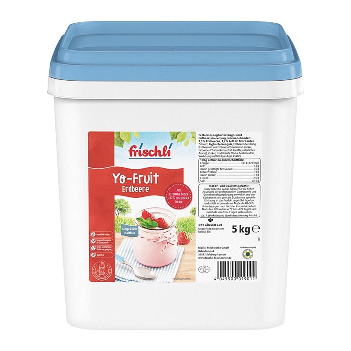 Frischli Yo-Fruit Erdbeer 5kg