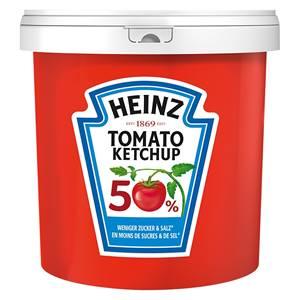 Heinz Tomato-Ketchup 50% weniger Zucker 10l