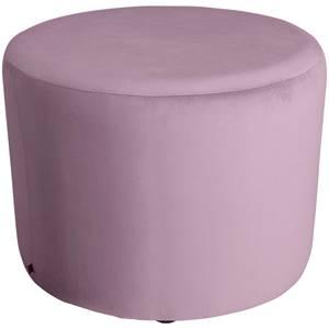 Hocker Lenny 70x47 cm (ØxH) rosa zylinderförmig