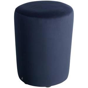 Hocker Lenny 42x47 cm (ØxH) dunkelblau zylinderförmig