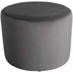 Hocker Lenny 70x47 cm (ØxH) taupe zylinderförmig