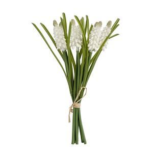 Hyazinthen 24 cm (H) weiß