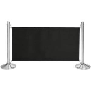 Sichtschutz Amelita 138x71 cm (LxH) schwarz