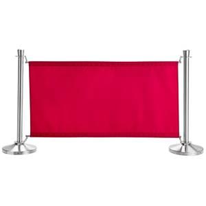 Sichtschutz Amelita 138x71 cm (LxH) burgund