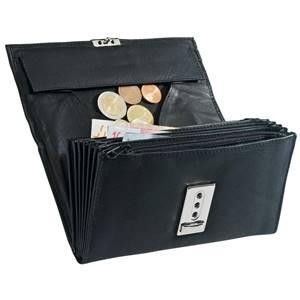 Geldbörse Lacara 18x9.5 cm (LxB) schwarz rechteckig