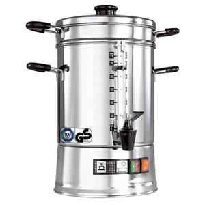 Kaffee-Automat CNS-75 9.5l, 24x48 cm (ØxH) silber/schwarz