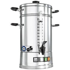 Kaffee-Automat CNS-100 12.5l, 26x53 cm (ØxH) silber/schwarz